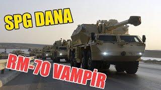 Azərbaycan Ordusunun Ən Yeni Silahları - DANA & RM-70 VAMPİR