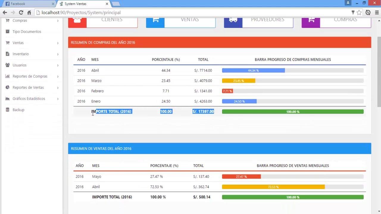 Sistema de compras ventas e inventario en php pdo mvc y - Central de compras web ...