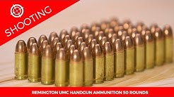 Remington UMC Handgun Ammunition 50 Rounds