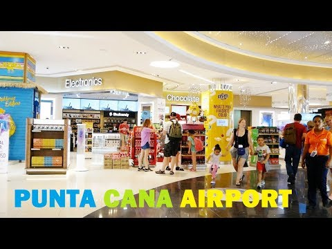 Punta Cana AIRPORT in Dominican Republic