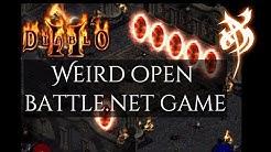 Weird Open Battle.net game - Diablo 2
