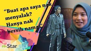"""Gambar cover """"Buat apa saya nak menyalak? Hanya nak bersih nama!"""" - Ex-GF Naim Daniel tuntut hak lagu Sumpah"""
