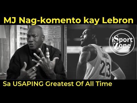 Michael Jordan, NAG KOMENTO Patungkol Kay Lebron at sa GOAT COMPARISON Sa Kanilang Dalawa.