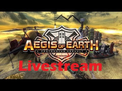 Aegis of Earth: Protonovus Assault | PS4 - Gameplay Livestream {English, Full 1080p HD}