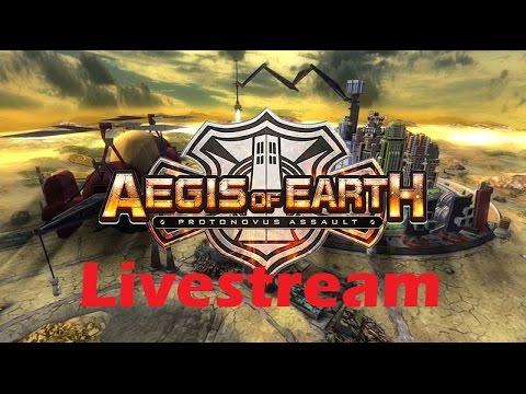 Aegis of Earth: Protonovus Assault | PS4 - Gameplay Livestream {English, Full 1080p HD}