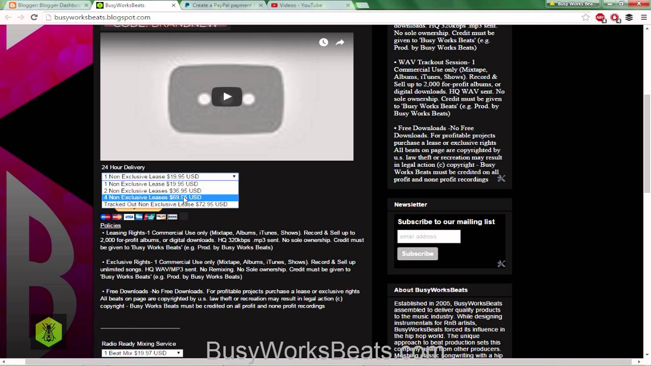 How to Make a FREE Beat Website | Step by Step Walkthrough