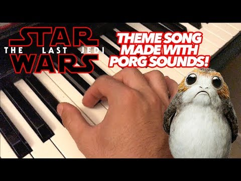 Thumbnail: Star Wars Theme Song Made ENTIRELY Out of Porg Sounds!!!