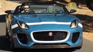 Jaguar F Type Project 7 ON SALE 2015 Full Speed Loud Engine Exhaust Sound Price Interior CARJAM TV