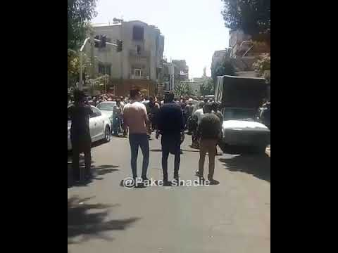 Iran: 3rd Day of Strike and Uprising in Tehran
