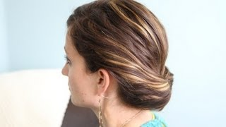 Ponytail {Gibson} Tuck DIY | Hairstyles for Work | Cute Girls Hairstyles
