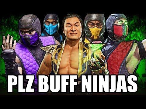 Mortal Kombat 11 - How Terrible are the Ninjas??