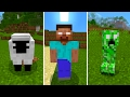 New Herobrine Mobs in Minecraft Pocket Edition (Herobrine's Everywhere Addon)