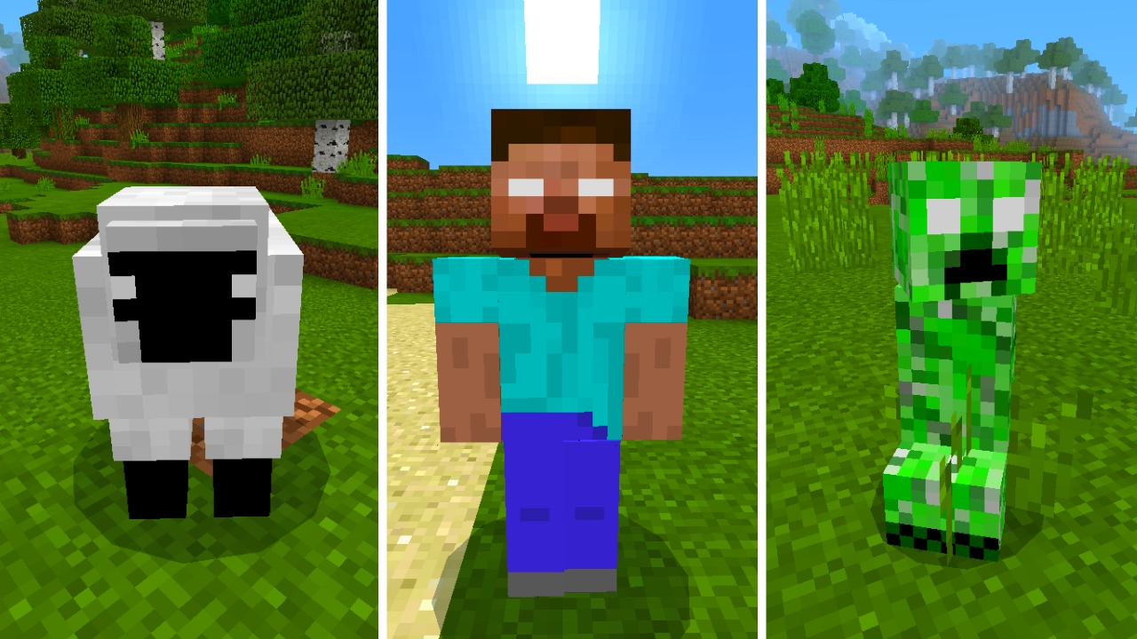 New Herobrine Mobs in Minecraft Pocket Edition (Herobrine s
