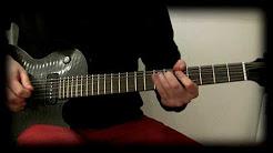 """Ozzy Osbourne """"Denial"""" solo cover. Gibson Les Paul BFG"""