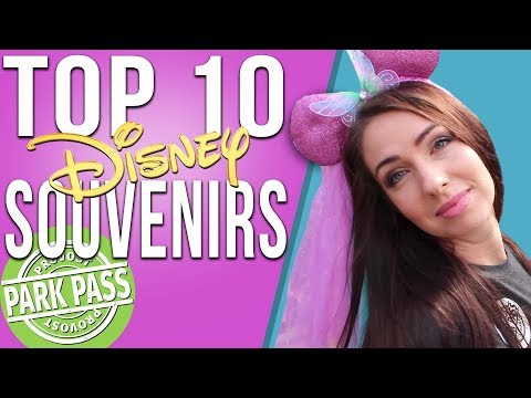 Top 10 Disney Souvenirs