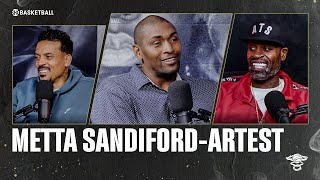 Metta Sandiford-Artest | Ep 54 | ALL THE SMOKE Full Episode | SHOWTIME Basketball