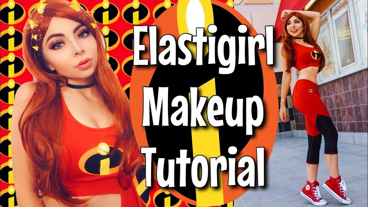 Incredibles 2 Costume & Makeup | Elastigirl Cosplay Outfit