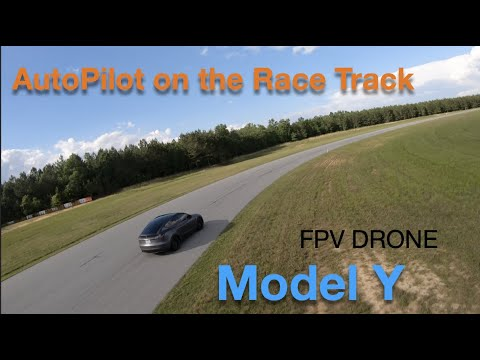 AutoPilot on the Race Track - Fun with Model Y