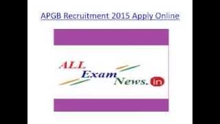 apgb recruitment 2015 ibps rrb 430 apply online