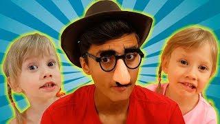 Pasha juega con 3 Alenas video divertido
