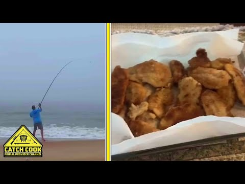 Shore Angling [CATCH CLEAN COOK] St. George Island, Florida, USA