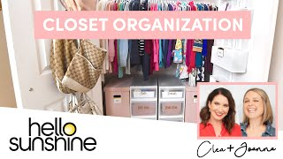 How To Organize Your Closet Space with The Home Edit | Master the Mess EP 2