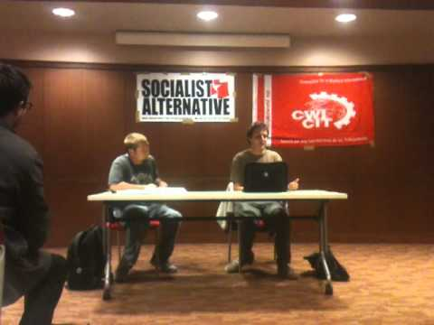 Capitalism in Crisis & the Socialist Alternative