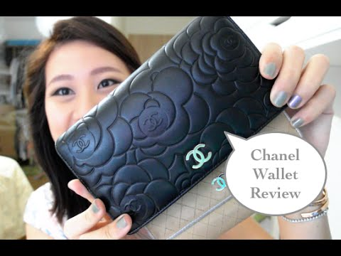 bcea67e8a287 Chanel Camellia Wallet review by Sherin Ng