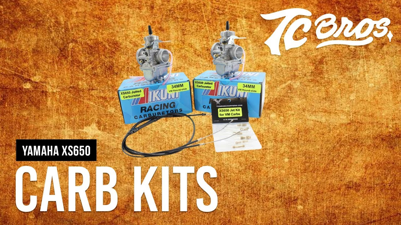 TC Bros  - XS650 High Performance Mikuni VM Carburetor Kit Review