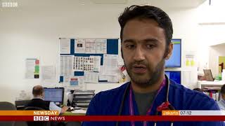 Indian doctors NHS on BBC World News