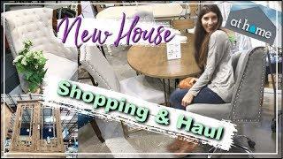 AT HOME Store SHOP WITH ME & HAUL 2019 | Shopping for the New House | Momma From Scratch