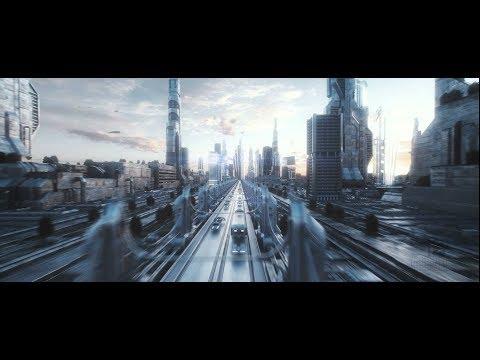 Elon Musk - NatGeo - Tedx - High tech simulation of Los Angeles in year 2505