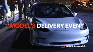 Model 3 Delivery event VLOG | Model 3 Owners Club