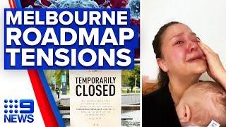 Coronavirus: Melbourne roadmap accused of unfair restriction eases   9 News Australia