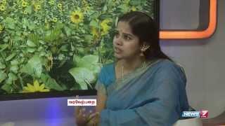 Deepa Venkat, the face behind the voices of film heroines | Varaverpparai | News7 Tamil