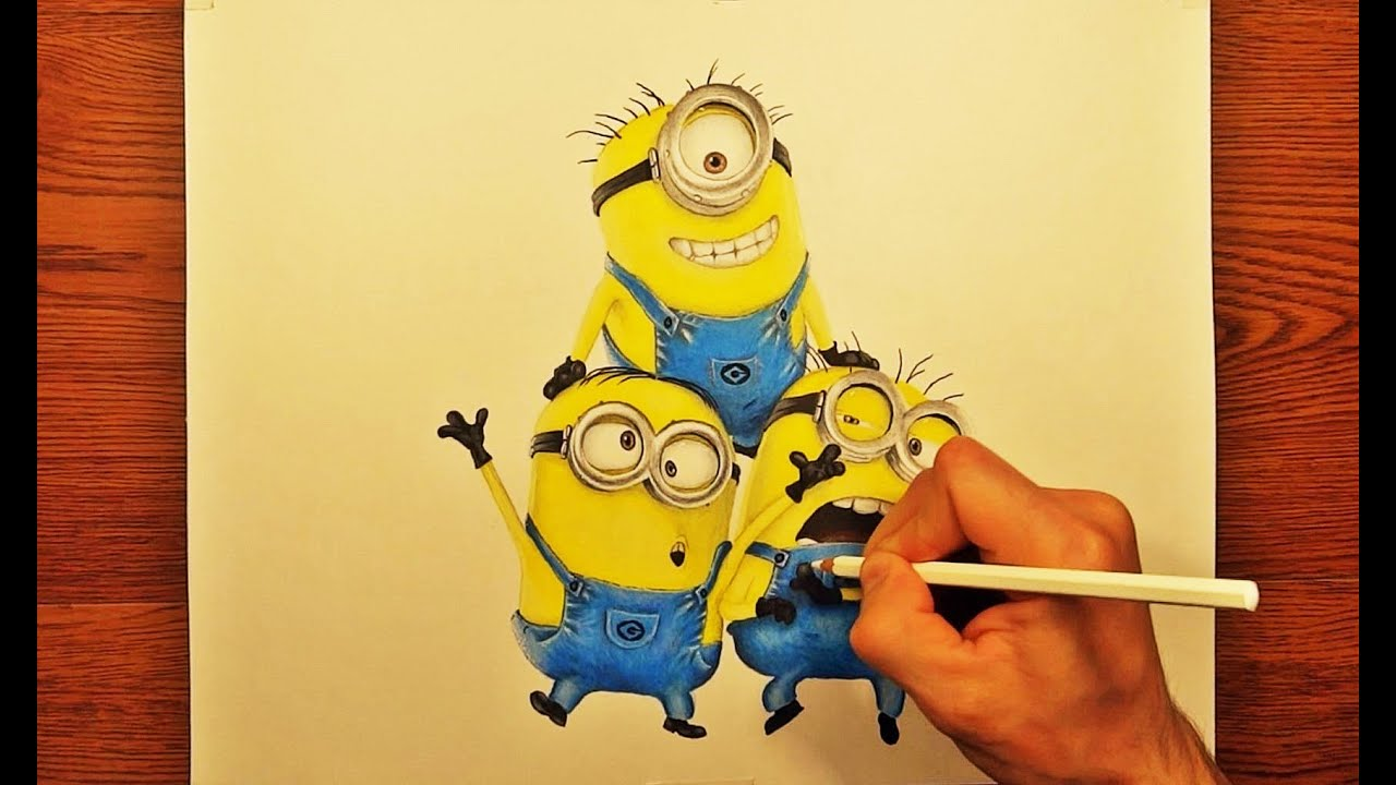 Show me how to draw a minion - Show Me How To Draw A Minion 25