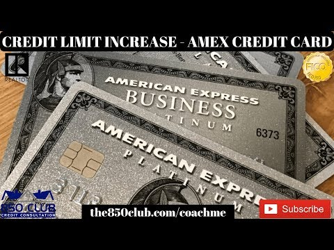 How To Get A Credit Limit Increase On An American Express Credit Card  - Financial Education