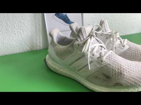 Cleaning ultra boost triple white 4.0 with Waschmaschine