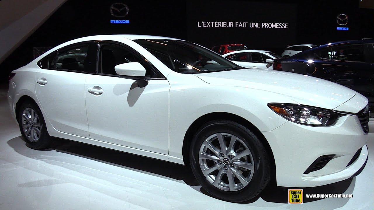 Simple 2016 Mazda 6 SkyActiv  Exterior And Interior Walkaround