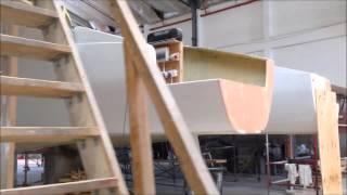 Build Progress on 5 big catamarans September 2014