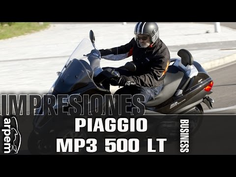 Piaggio MP3 500 LT Business - 2014 - Videoprueba - Español