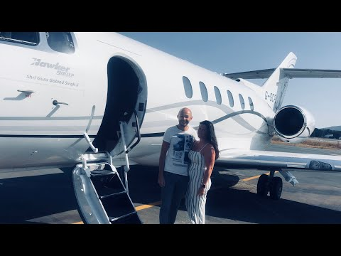 From unemployed to flying on a Private Jet 🛩 (Hawker Beechcraft 900XP)