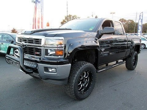 Black Widow Chevy >> 2014 Chevy Silverado 1500 Southern Comfort Black Widow Lifted Truck - YouTube