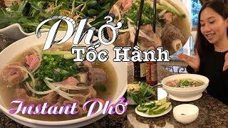 Oxtail Pho by Instant Pot - Phở Bò - Cách nấu tốc hành cực kỳ thơm ngon - Beef noodle soup
