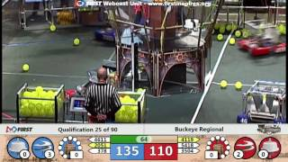 Qual 25 - 2017 Buckeye Regional