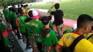 Sriwijaya Mania & Singa Mania Away PTIK JAKARTA || Bhayangkara FC VS Sriwijaya FC (12-10-2018)