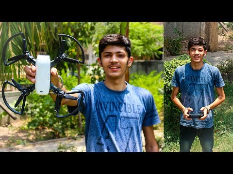 DJI SPARK Unboxing And First Flight