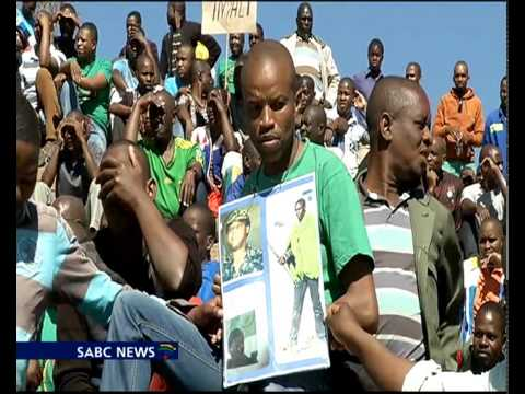 Thousands trekked to Marikana to commemorate the tragedy today.