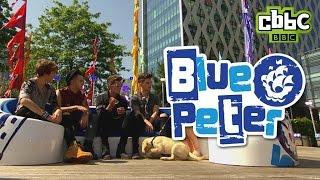 Union J interview on Blue Peter - CBBC