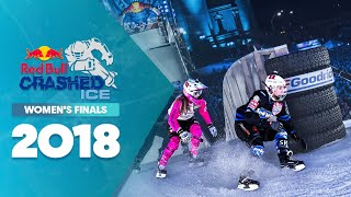 Who won Red Bull Crashed Ice 2018 US - Women's Finals.